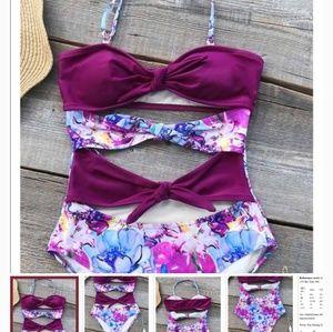 Cupshe One Piece Swimming Suit Swim Suit M